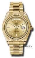 Rolex 18K Yellow Gold Model 228238CHIP