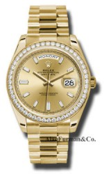 Rolex 18K Yellow Gold Model 228348CHBDP