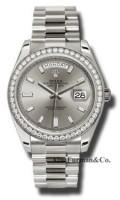 Rolex 18K White Gold Model 228349SBDP