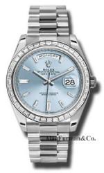 Rolex Platinum Model 228396TBR