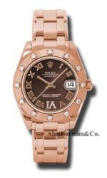 Rolex 18K Rose Gold Model 81315CHODR