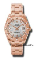 Rolex 18K Rose Gold Model 81315MD