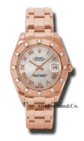 Rolex 18K Rose Gold Model 81315MR