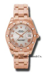 Rolex 18K Rose Gold Model 81315MR