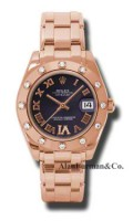 Rolex 18K Rose Gold Model 81315PDR