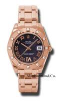 Rolex 18K Rose Gold Model 81315PDR