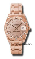 Rolex 18K Rose Gold Model 81315PR