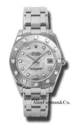 Rolex 18K White Gold Model 81319MD