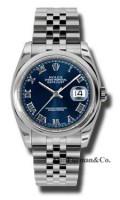 Rolex Steel Model 116200BLRJ