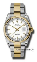 Rolex SS 18K Yellow Gold Model 116233WSO