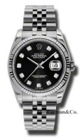 Rolex Steel Model 116234BKDJ