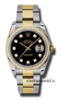 Rolex SS 18K Yellow Gold Model 116243BKDO
