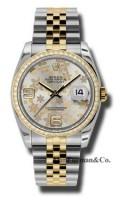 Rolex SS 18K Yellow Gold Model 116243SFAJ