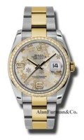 Rolex SS 18K Yellow Gold Model 116243SFAO