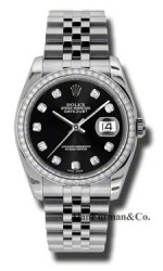Rolex Steel Model 116244BKDJ