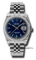 Rolex Steel Model 116244BLIJ