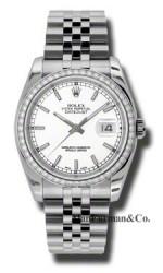 Rolex Steel Model 116244WIJ