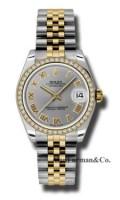 Rolex SS 18K Yellow Gold Model 178383GRJ