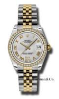 Rolex SS 18K Yellow Gold Model 178383SDRJ