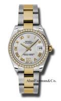 Rolex SS 18K Yellow Gold Model 178383SDRO