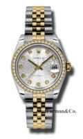 Rolex SS 18K Yellow Gold Model 178383SJDJ