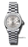Rolex Platinum Model 279136RBR S9D8DP