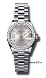Rolex Platinum Model 279136RBR S9D8DP