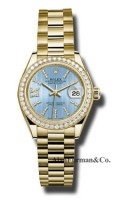 Rolex 18K Yellow Gold Model 279138RBR CBLS36D8DP