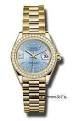Rolex 18K Yellow Gold Model 279138RBR CBLS36D8DP