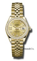 Rolex 18K Yellow Gold Model 279138RBR CH9D8DJ