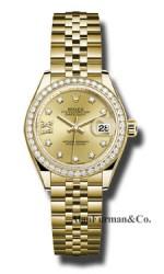 Rolex 18K Yellow Gold Model 279138RBR CH9D8DJ