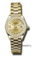 Rolex 18K Yellow Gold Model 279138RBR CH9D8DP