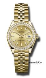 Rolex 18K Yellow Gold Model 279138RBR CHIJ