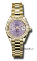 Rolex 18K Yellow Gold Model 279138RBR LILS36D8DP