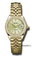 Rolex 18K Yellow Gold Model 279138RBR LINGS36D8DJ