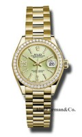 Rolex 18K Yellow Gold Model 279138RBR LINGS36D8DP