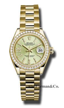 Rolex 18K Yellow Gold Model 279138RBR LINGS36D8DP