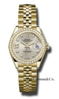 Rolex 18K Yellow Gold Model 279138RBR S9D8DJ
