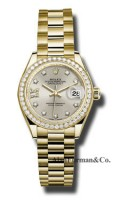 Rolex 18K Yellow Gold Model 279138RBR S9D8DP