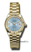 Rolex 18K Yellow Gold Model 279178 CBLS36D8DP