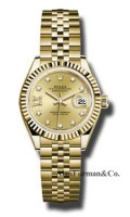 Rolex 18K Yellow Gold Model 279178 CH9D8DJ