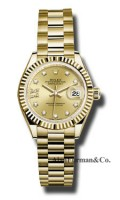Rolex 18K Yellow Gold Model 279178 CH9D8DP