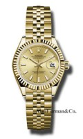 Rolex 18K Yellow Gold Model 279178 CHIJ