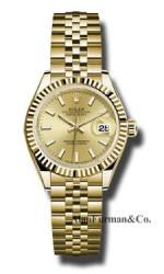 Rolex 18K Yellow Gold Model 279178 CHIJ