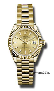 Rolex 18K Yellow Gold Model 279178 CHIP