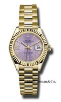 Rolex 18K Yellow Gold Model 279178 LILS36D8DP