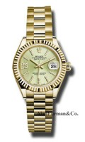 Rolex 18K Yellow Gold Model 279178 LINGS36D8DP