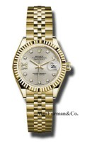 Rolex 18K Yellow Gold Model 279178 S9D8DJ