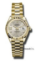 Rolex 18K Yellow Gold Model 279178 S9D8DP