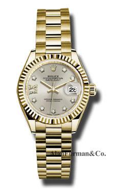 Rolex 18K Yellow Gold Model 279178 S9D8DP